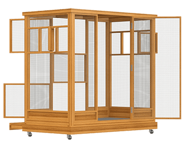 How to Build An Aviary: 10 Steps (with Plans+Pics) to a DIY Bird Aviary